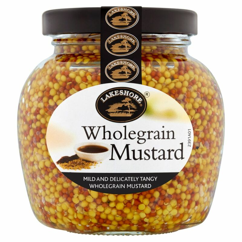 Lakeshore Wholegrain Mustard 205g