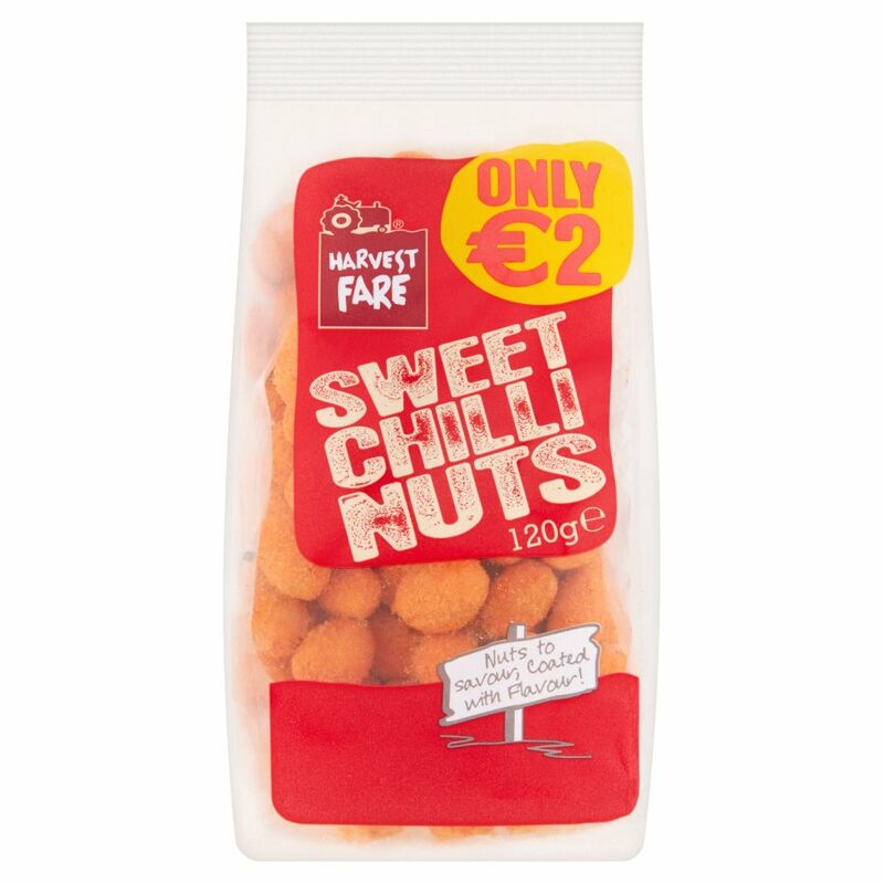 Harvest Fare Sweet Chilli Nuts 120g