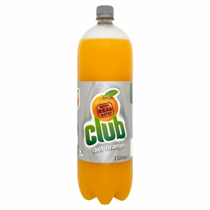 Club Diet Orange 2 Litres