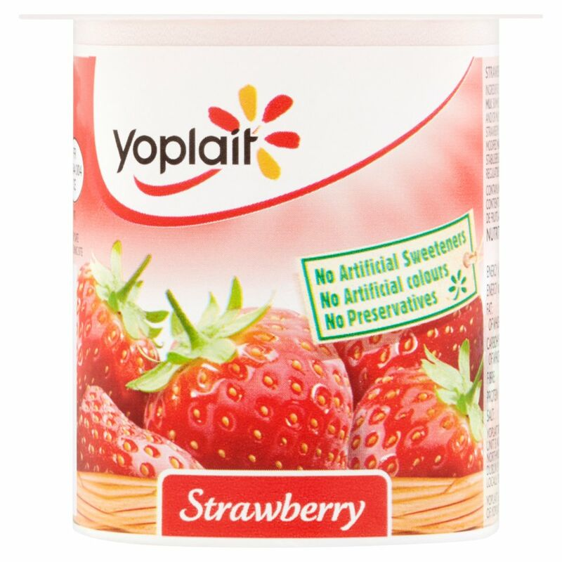 Yoplait Strawberry Yogurt 125g