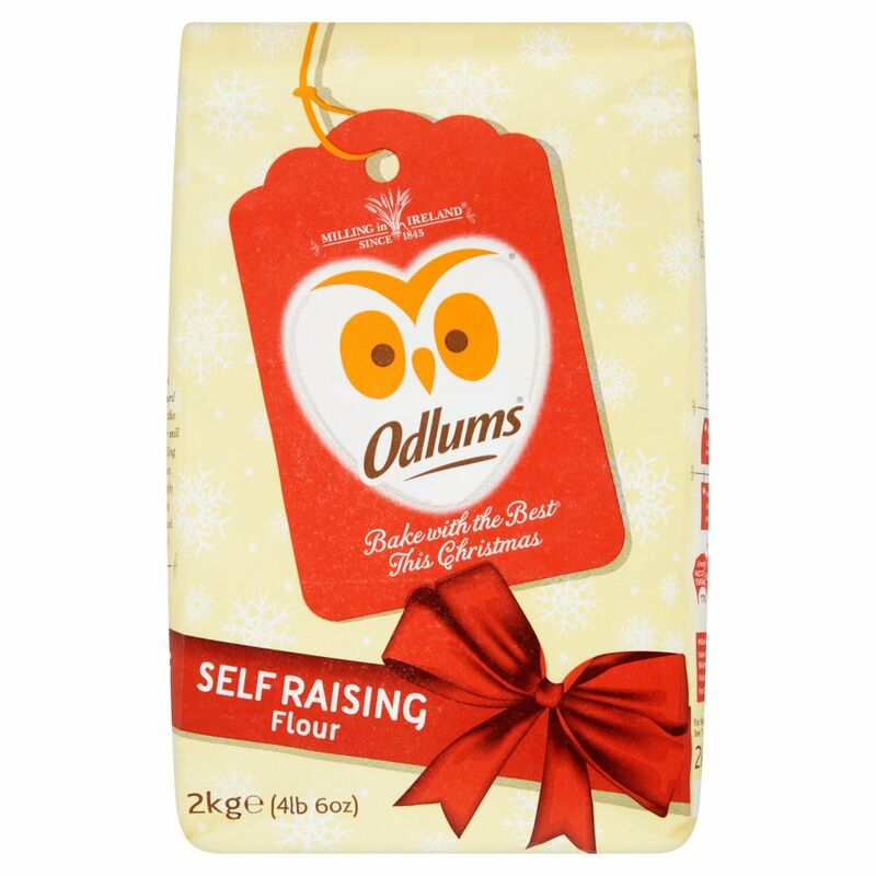 Odlums Christmas Self Raising Flour 2kg