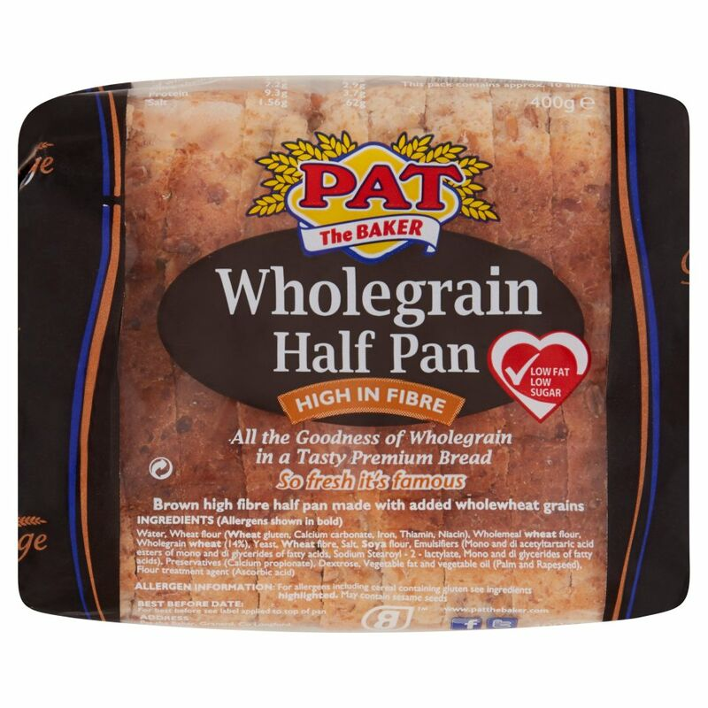 Pat the Baker Wholegrain Half Pan 400g