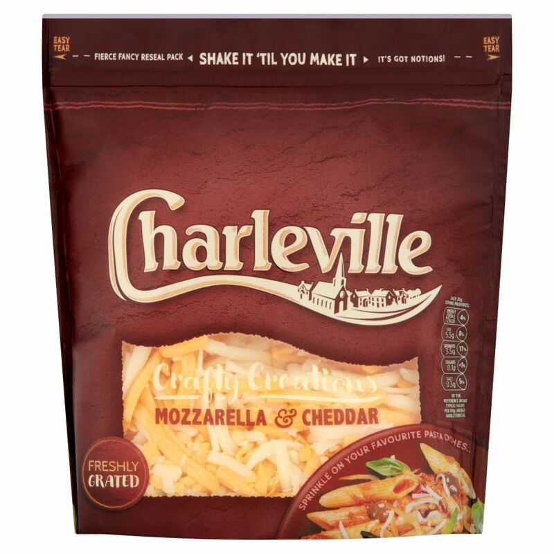 Charleville Crafty Creations Mozzarella & Cheddar 200g