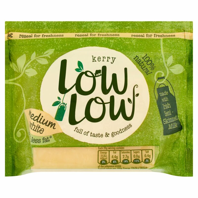 Kerry LowLow White Medium Cheese 200g