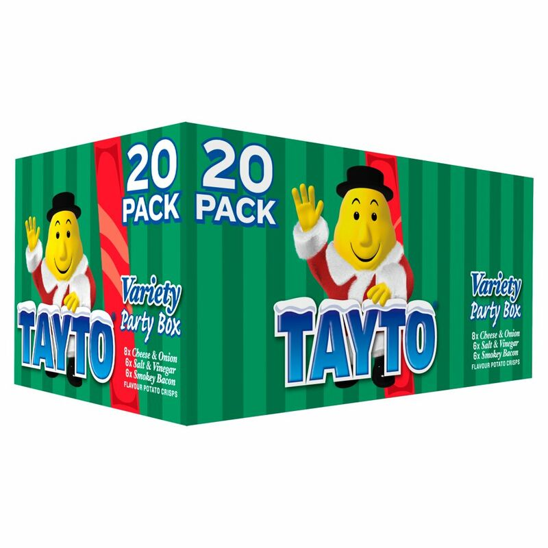 Tayto Variety Party Box 20 x 25g