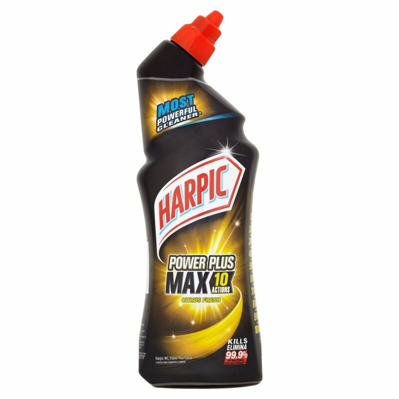 Harpic Power Plus Max 10 Actions Citrus Fresh 750ml
