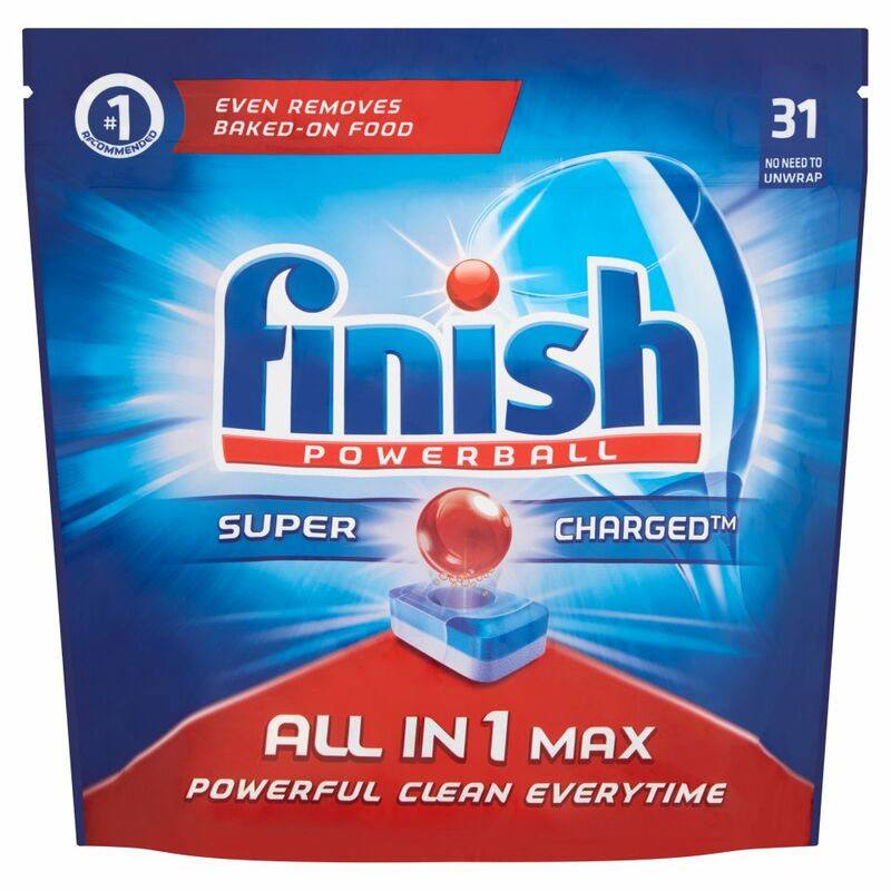 Finish Powerball Super Charged All in 1 Max 505g = 31s