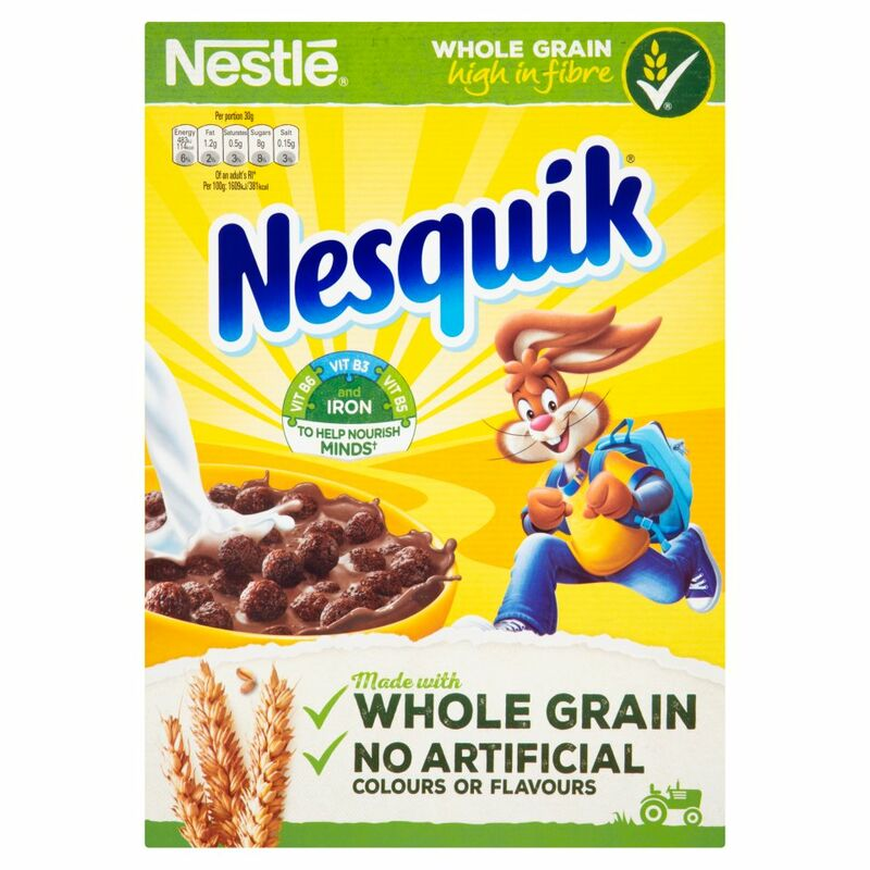 NESTLE NESQUIK Cereal 375g Box