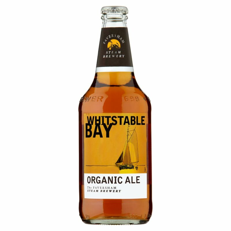 Faversham Steam Brewery Whitstable Bay Organic Ale 500ml
