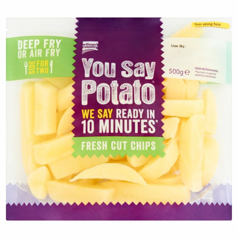 Wilson's Country You Say Potato Fresh Cut Chips 500g