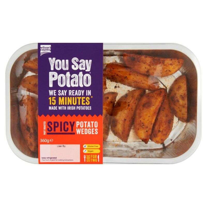 Wilson's Country You Say Potato Spicy Potato Wedges 360g