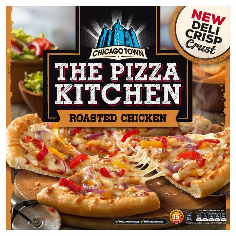 Chicago Town The Pizza Kitchen Roasted Chicken 385g
