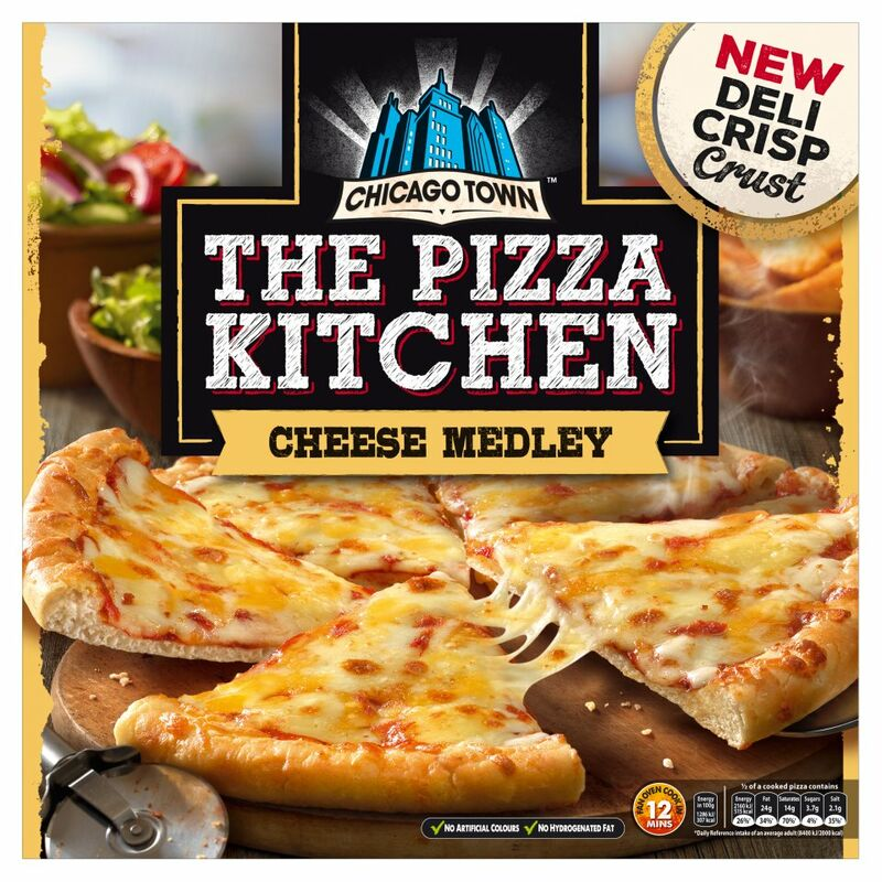 Chicago Town The Pizza Kitchen Cheese Medley (350g)