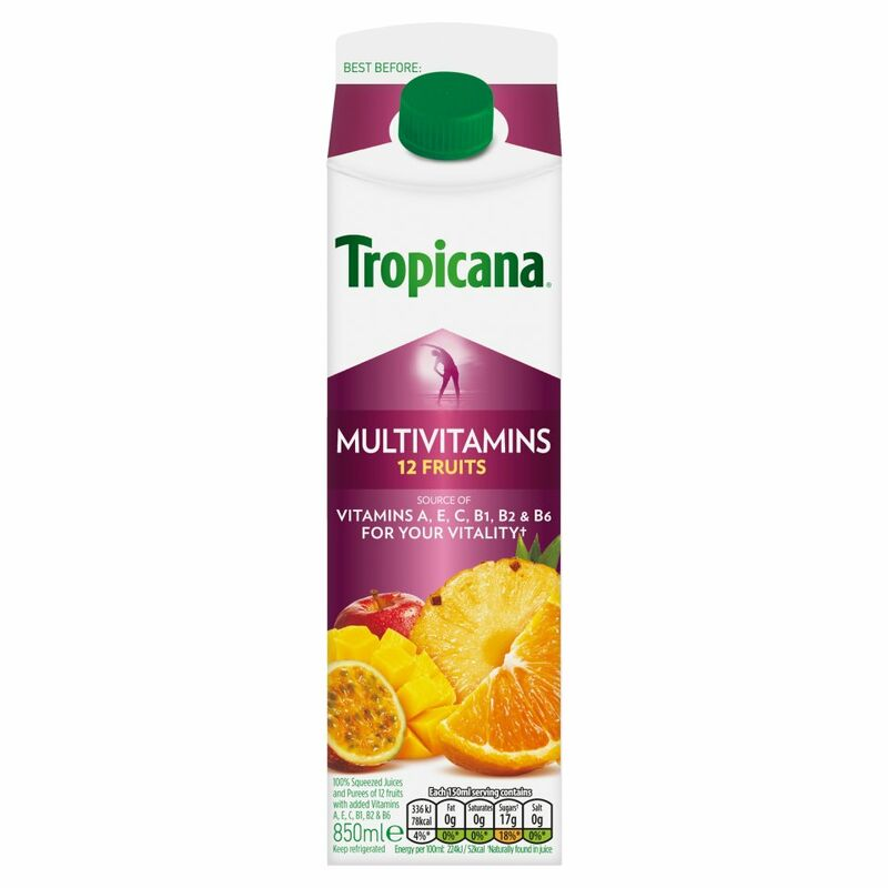 Tropicana Multivitamin Fruit Juice 850ml