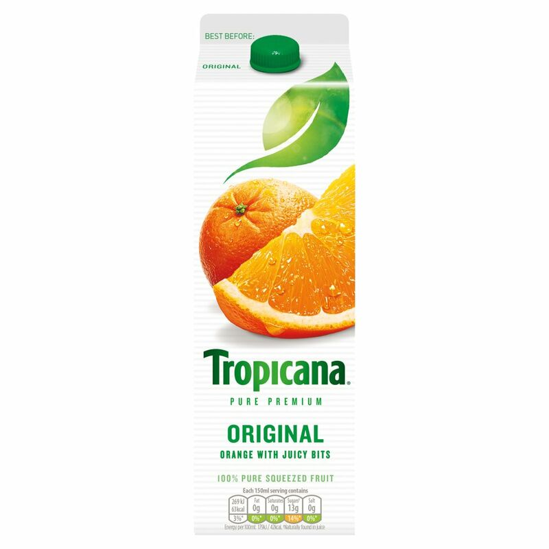 Tropicana Orange Juice Original 950ml