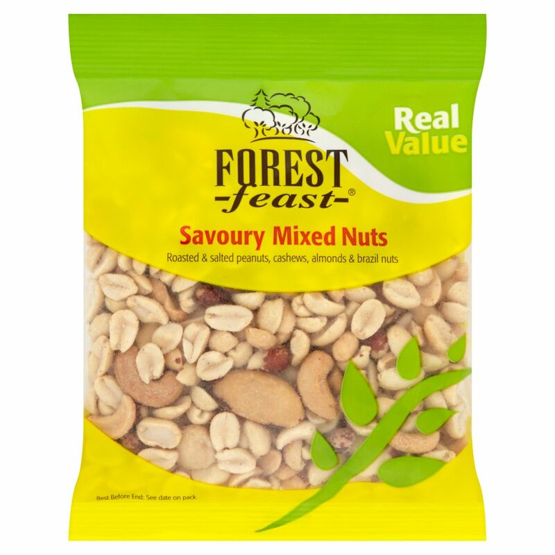 Forest Feast Real Value Savoury Mixed Nuts 200g