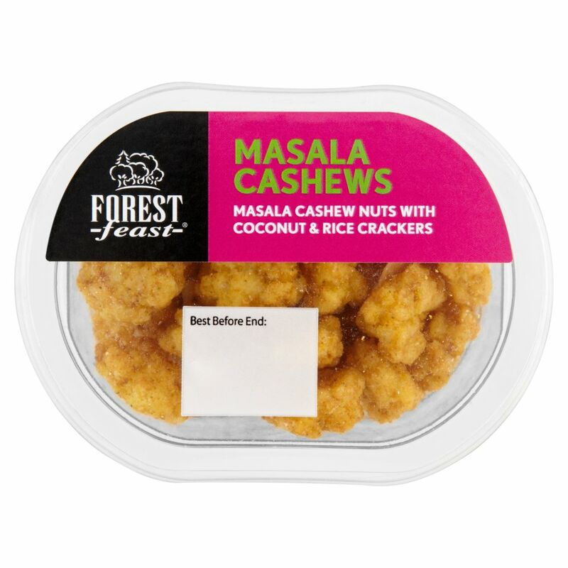 Forest Feast Masala Cashews 45g