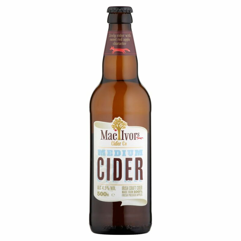 Mac Ivors Cider Co Medium Cider 500ml