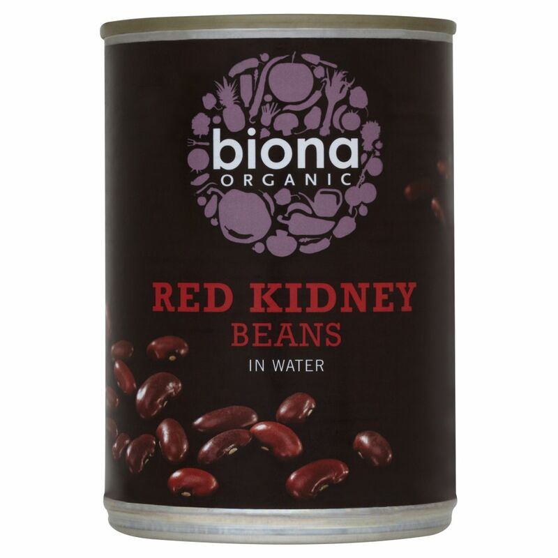 Biona Organic Red Kidney Beans in Water 400g