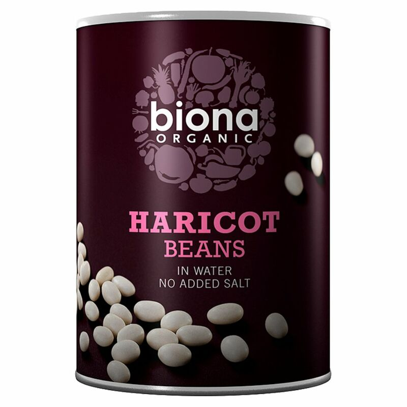 Biona Organic Haricot Beans in Water 400g