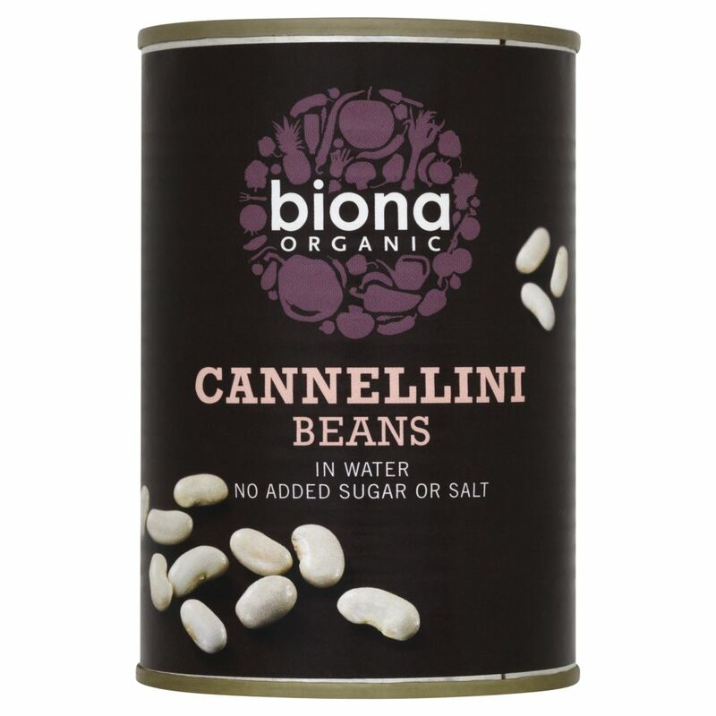 Biona Organic Cannellini Beans in Water 400g