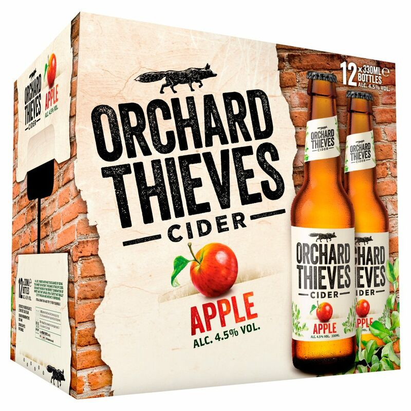 Orchard Thieves Apple Cider 12 x 330ml