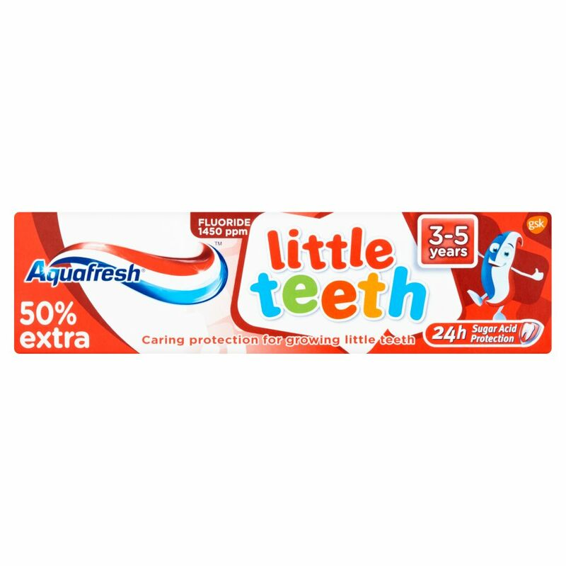 Aquafresh Little Teeth 3-5 years 75ml