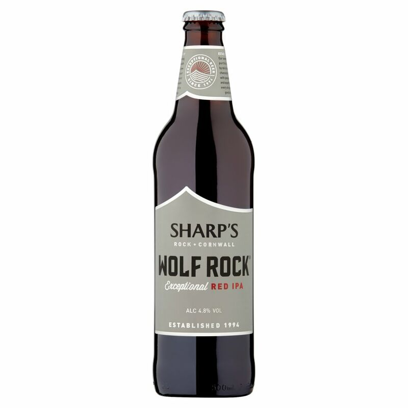 Sharp's Wolf Rock Exceptional Red IPA 500ml