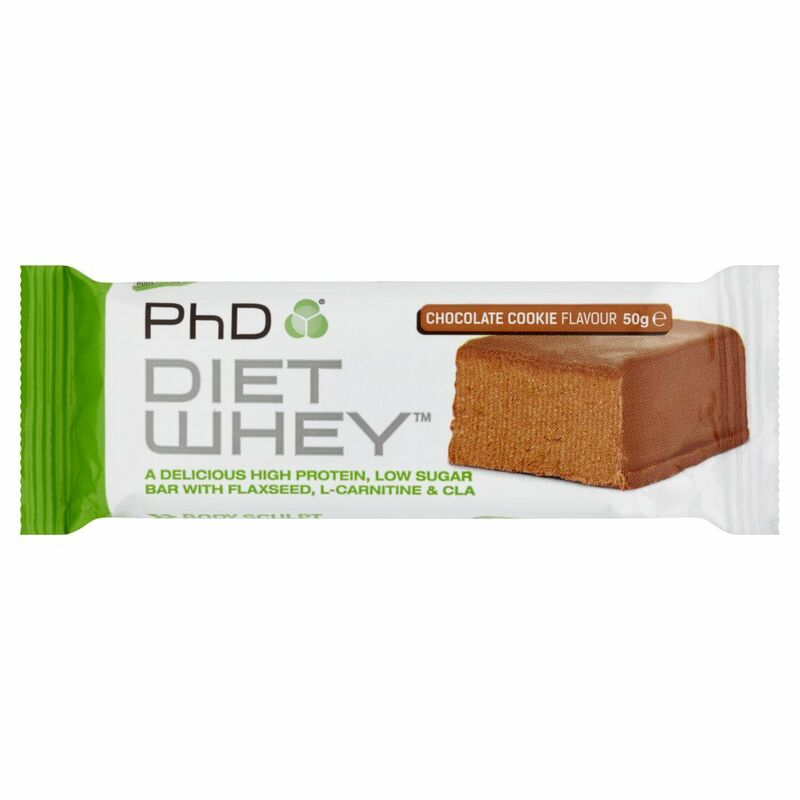 PhD Diet Whey Body Sculpt Chocolate Cookie Flavour 50g