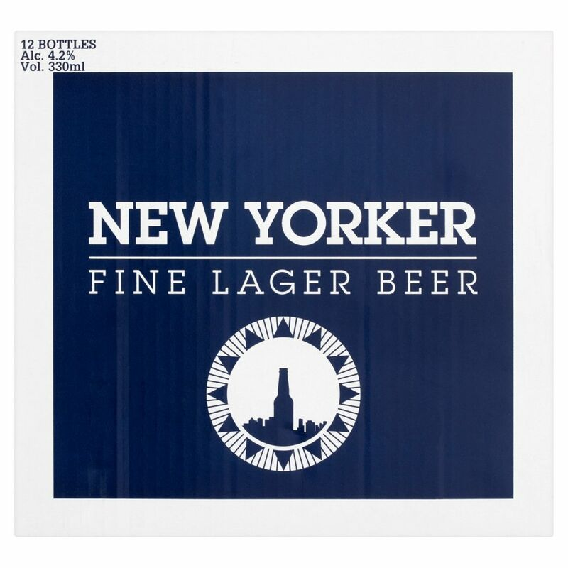 New Yorker Fine Lager Beer 12 x 330ml