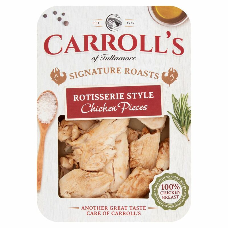 Carroll's of Tullamore Signature Roasts Rotisserie Style Chicken Pieces 100g