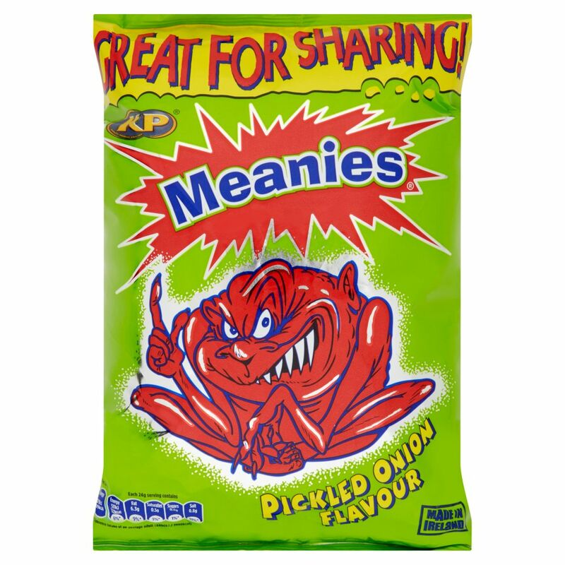 KP Meanies Pickled Onion Flavour 120g