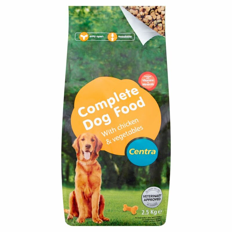 Centra Complete Dogfood with Chicken & Vegetables 2.5kg