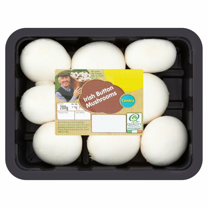 Centra Irish Button Mushrooms 200g