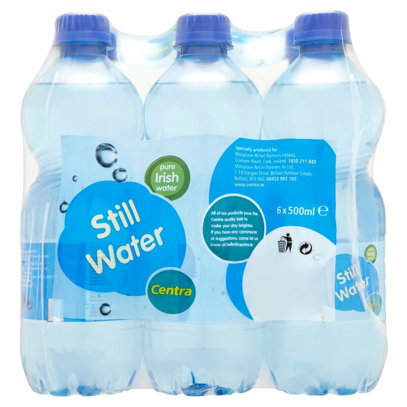 Centra Still Water 6 x 500ml
