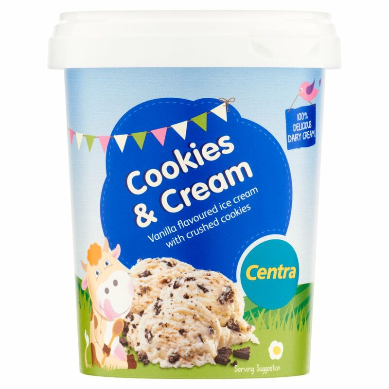 Centra Cookies & Cream Ice Cream 500ml
