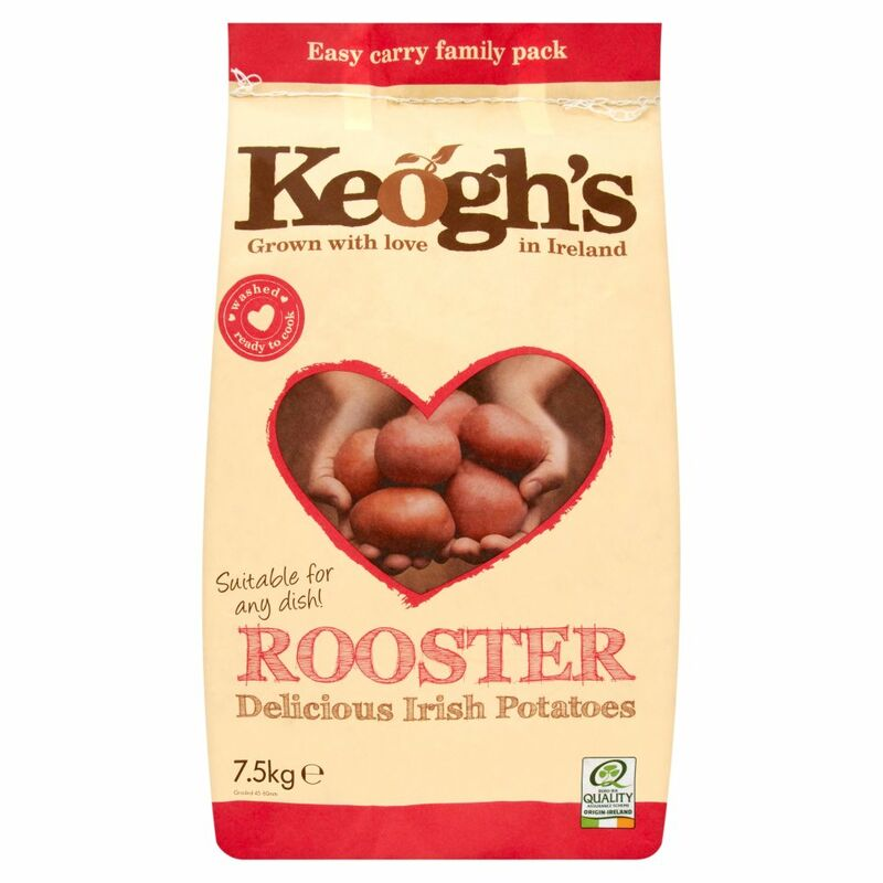Keogh's Rooster Irish Potatoes 7.5kg