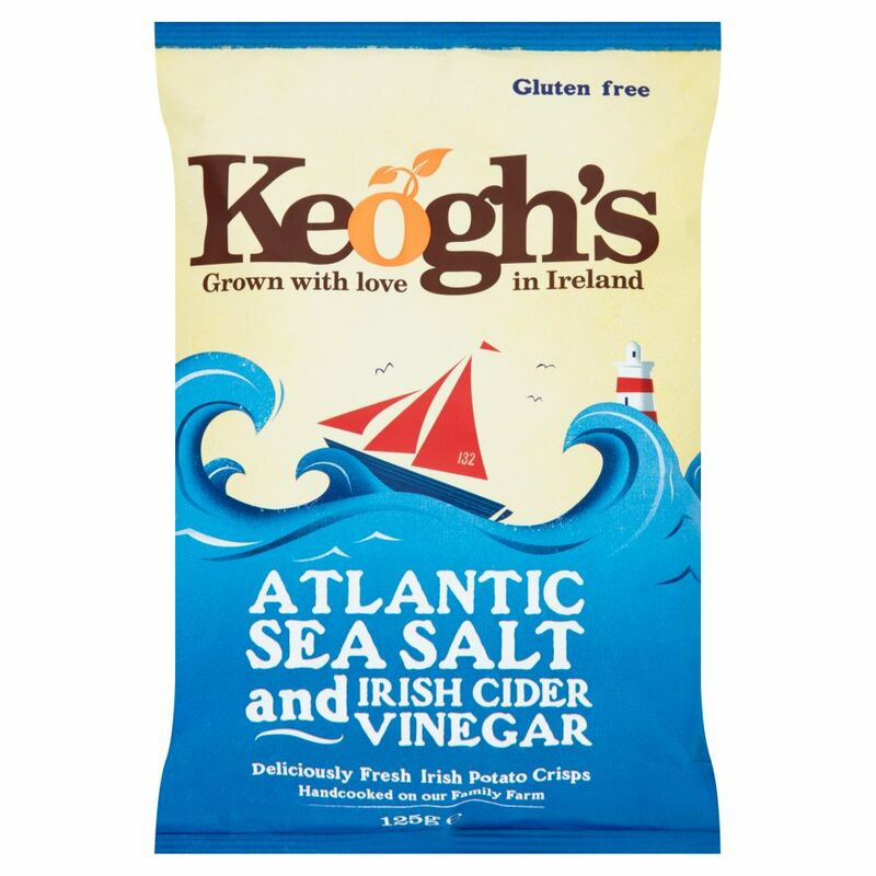 Keogh's Atlantic Sea Salt and Irish Cider Vinegar 125g