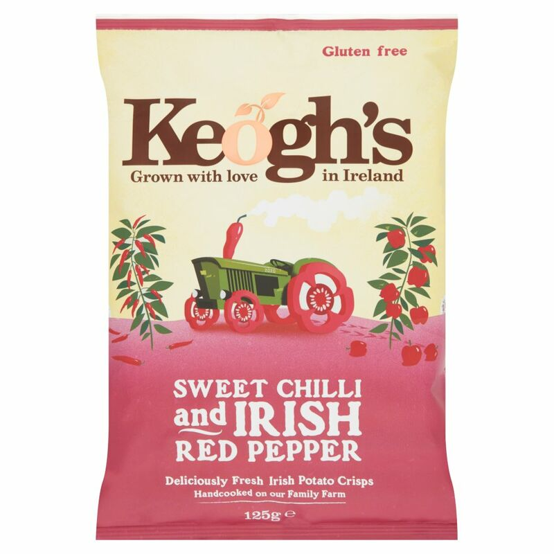 Keogh's Sweet Chilli and Irish Red Pepper 125g