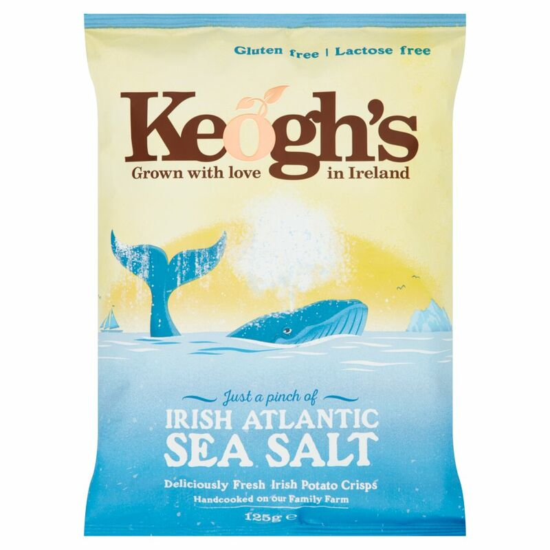 Keogh's Irish Atlantic Sea Salt 125g