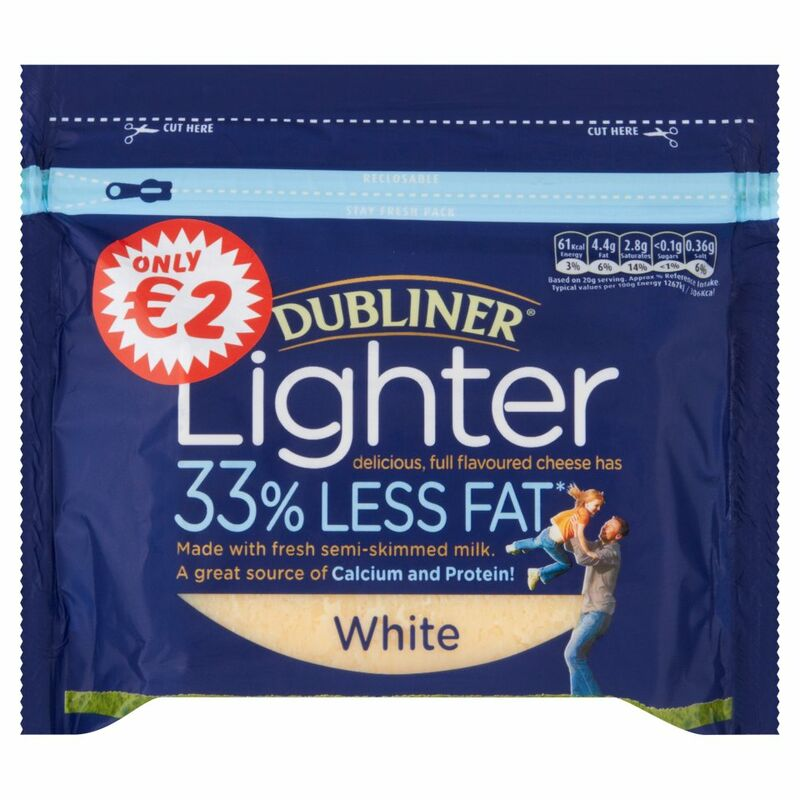 Dubliner Ligher White 200g, Only €2