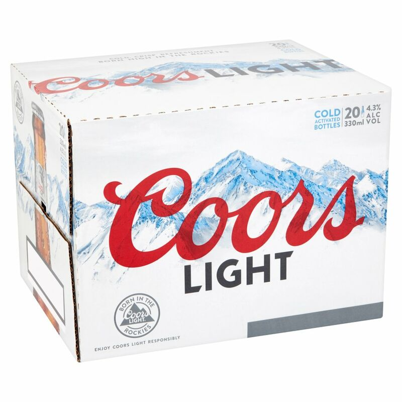 Coors Light 20 x 330ml