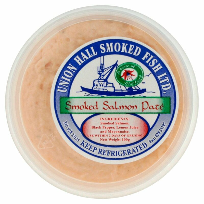 Union Hall Smoked Fish Ltd Smoked Salmon Pate 100g