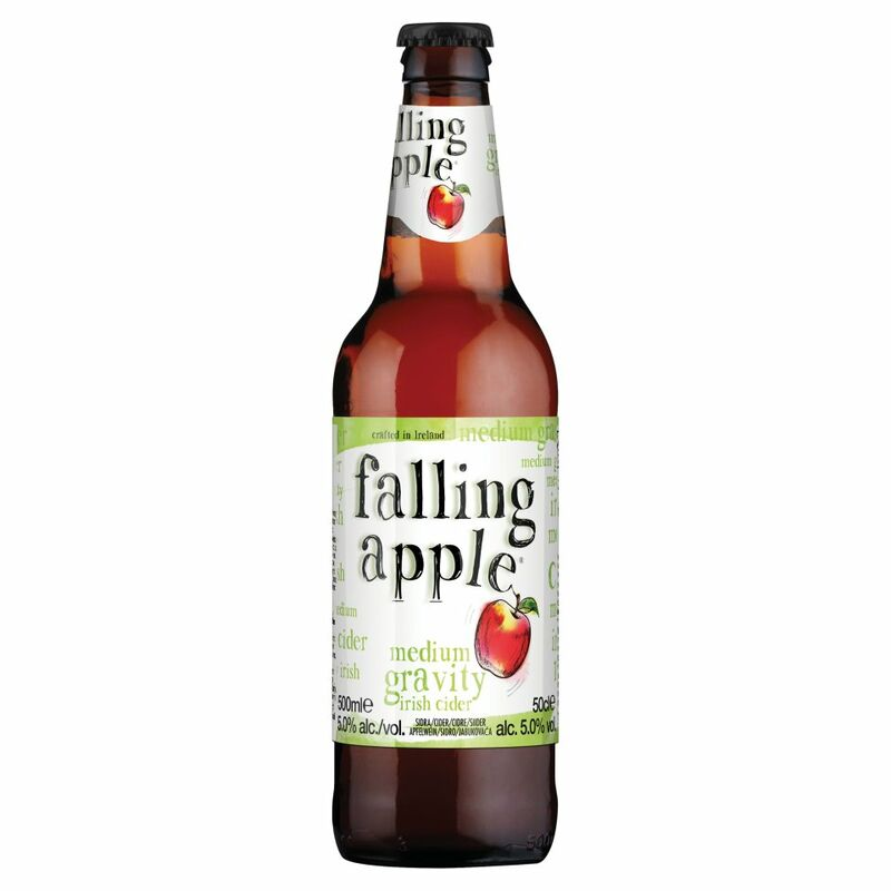 Falling Apple Medium Gravity Irish Cider 50cl