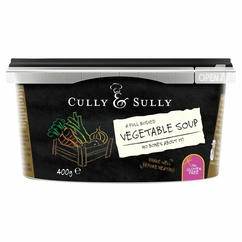 Cully & Sully Vegetable Soup 400g