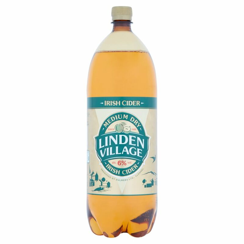 Linden Village Medium Dry Irish Cider 2 Litre