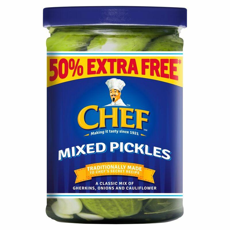 Chef Mixed Pickles 535g