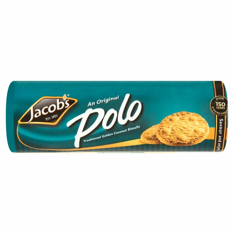 Jacob's An Original Polo Traditional Golden Coconut Biscuits 200g
