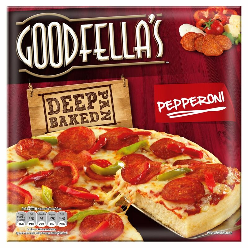 Goodfella's Deep Pan Baked Pepperoni Pizza 419g