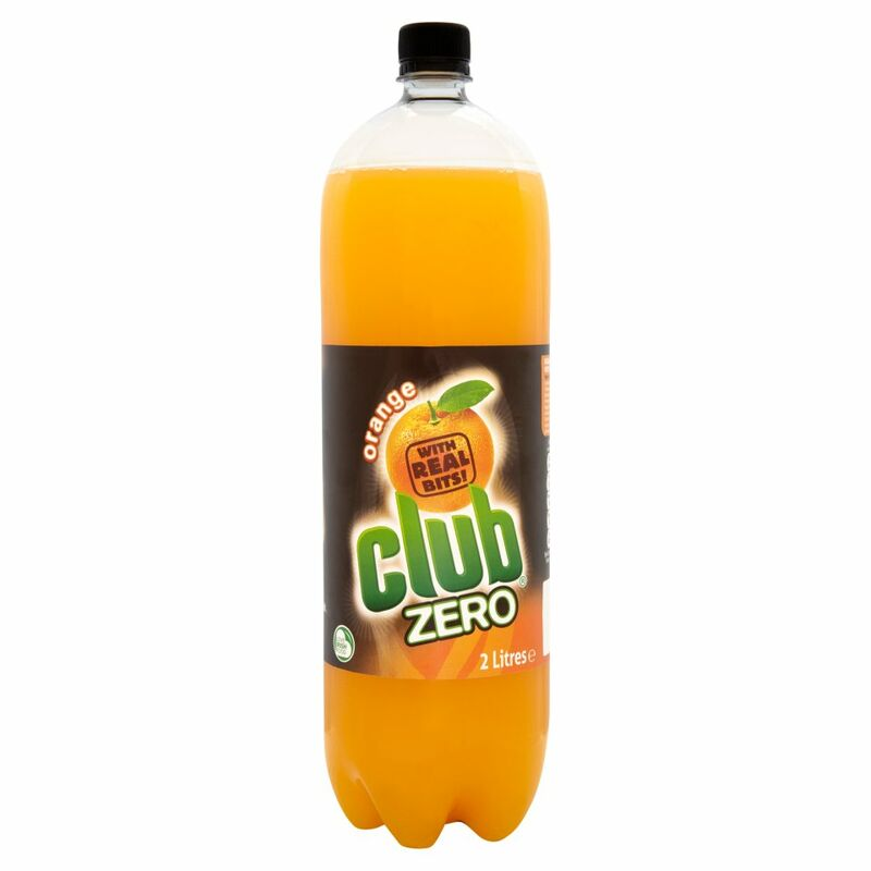Club Zero Orange 2 Litres